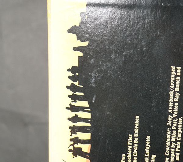 国内プロモ盤LP Railhead Overture マイク・ポスト MIKE POST ロック ポップス レコード 寄付品_画像7