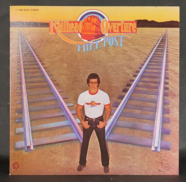 国内プロモ盤LP Railhead Overture マイク・ポスト MIKE POST ロック ポップス レコード 寄付品_画像1