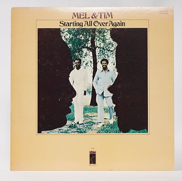 国内プロモ盤LP Mel&Tim Starting All Over Again メル&ティム レコード 寄付品_画像1