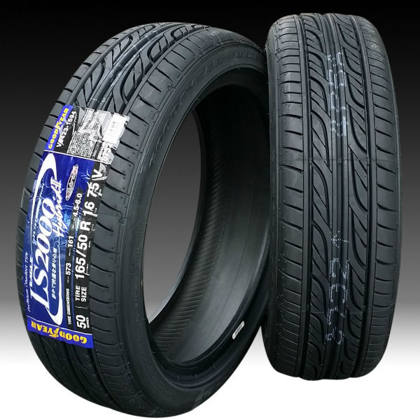 ■ CROSS SPEED RS9 ■ 軽四用16in GOODYEAR 165/50R16 タイヤ付4本セット_画像2