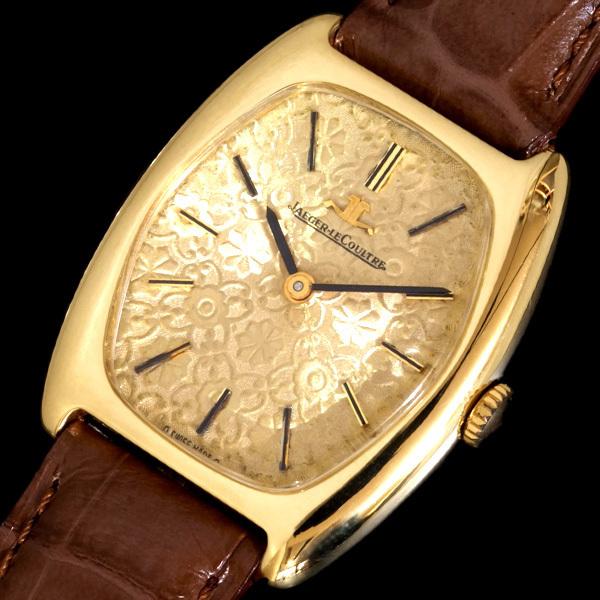 C2803【JAEGER-LE COULTRE】ジャガールクルト 最高級18金無垢 レディ手巻 腕周り15~18.5cm 重さ33.6g ケース幅28.0mm_画像1
