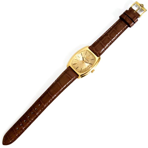 C2803【JAEGER-LE COULTRE】ジャガールクルト 最高級18金無垢 レディ手巻 腕周り15~18.5cm 重さ33.6g ケース幅28.0mm_画像2
