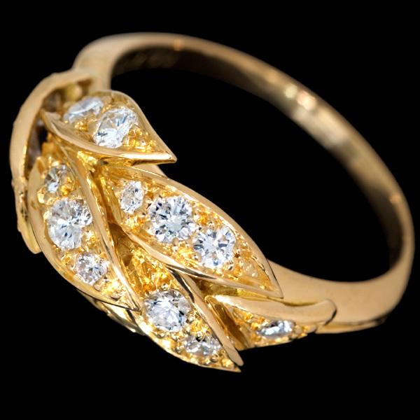 B8458【PIAGET】ピアジェ 絶品ダイヤモンド 最高級18金無垢リング_画像3
