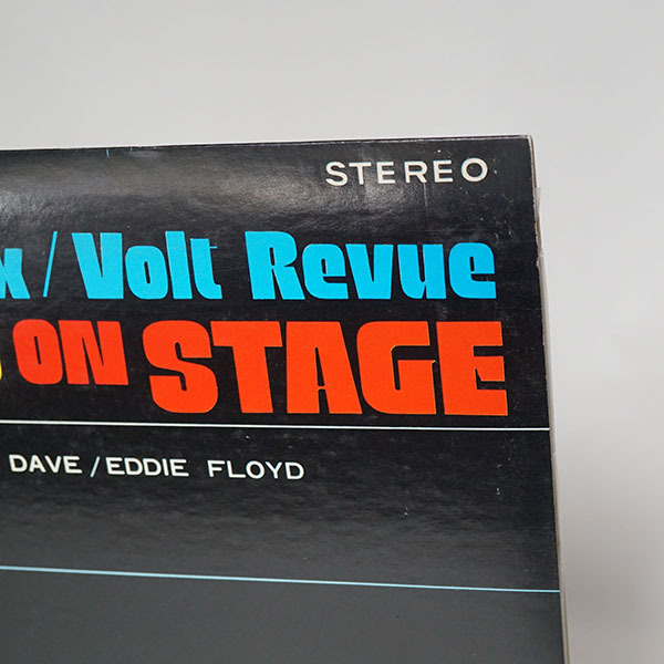 国内プロモ盤LP Live In Paris The Stax/Volt Revue Otis Redding Sam&Dave Carla Thomas Eddie Floyd オーティス サム&デイヴ_画像6