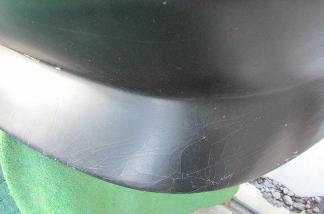 S14 シルビア メーカー不明 社外 エアロバンパー リアバンパー 張り出し オリジンタイプ? 黒色 前期 後期 補修ベースに_画像8