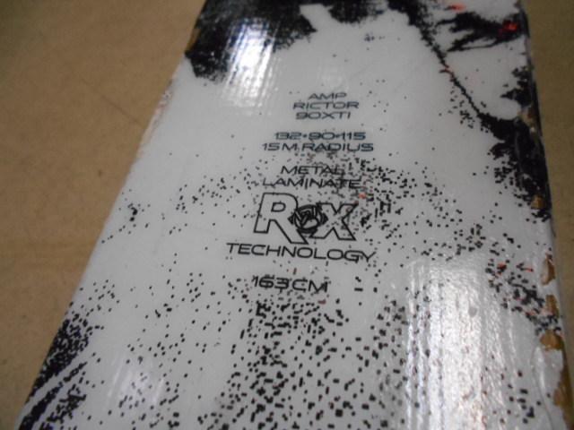 $ パウダーも入れます! オールラウンドスキー K2《ケイツー》 AMP《アンプ》RICTOR《リクター》90XTI 163㎝ 2015年モデル $ 157_画像9