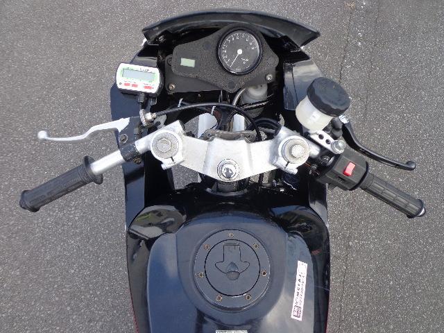 アルミ 溶接ハンドル 41Φ 垂角 10度 CB750 CB400SF CB400Four CB-1 CBR400RR CBR600F ホーネット VFR400R VTR1000F VTR250 NSR250R_イメージ画像 (使用例)