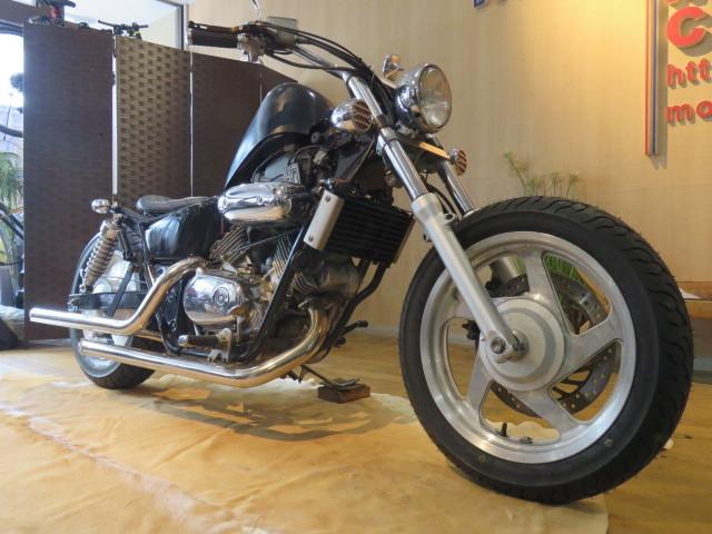 「HONDA MAGNA 250 MC29 ホンダ マグナ 250cc ブラック 27800km エンジン実動! アメリカン バイク カスタム製作中! 札幌発」の画像3