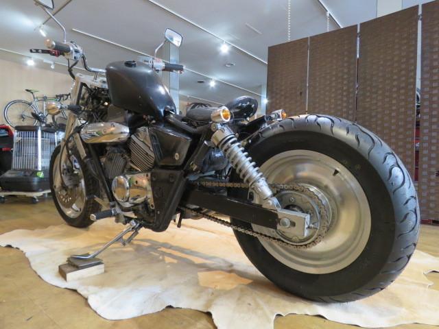 HONDA MAGNA 250 MC29 ホンダ マグナ 250cc ブラック 27800km エンジン実動! アメリカン バイク カスタム製作中! 札幌発_画像5