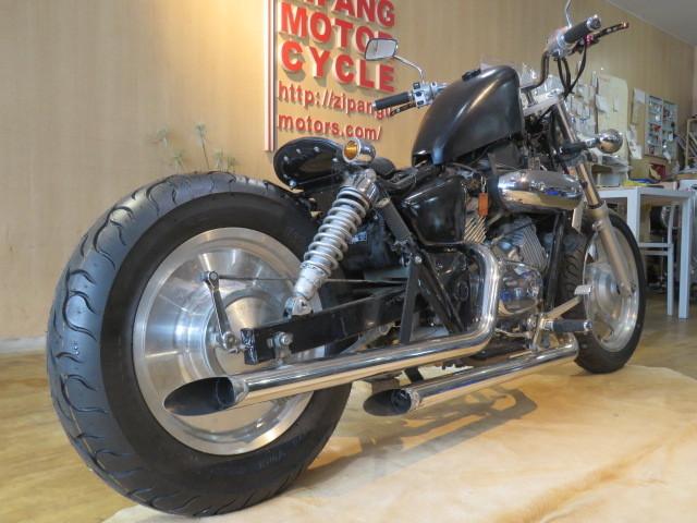 HONDA MAGNA 250 MC29 ホンダ マグナ 250cc ブラック 27800km エンジン実動! アメリカン バイク カスタム製作中! 札幌発_画像6