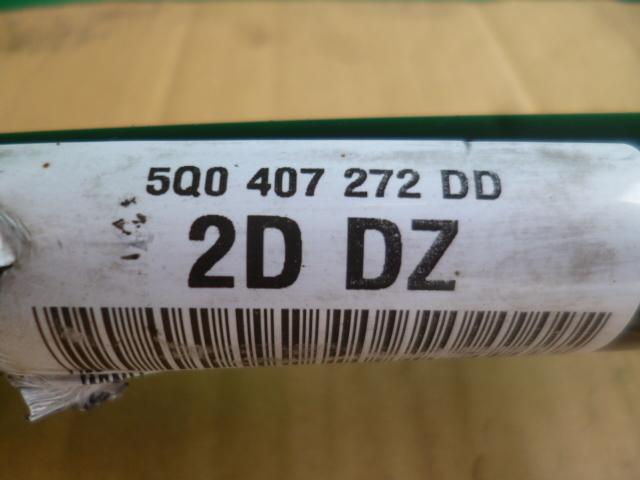 ゴルフ7 AU CPT 純正 右 フロント ドライブシャフト 5Q0407272DD 走行テスト済み [QVQV38304]VW ゴルフⅦ 5G_画像2