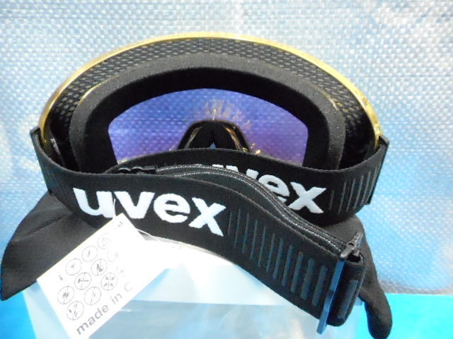 UVEX contest FM chrome S5501346030 gold-chrome                  _画像2