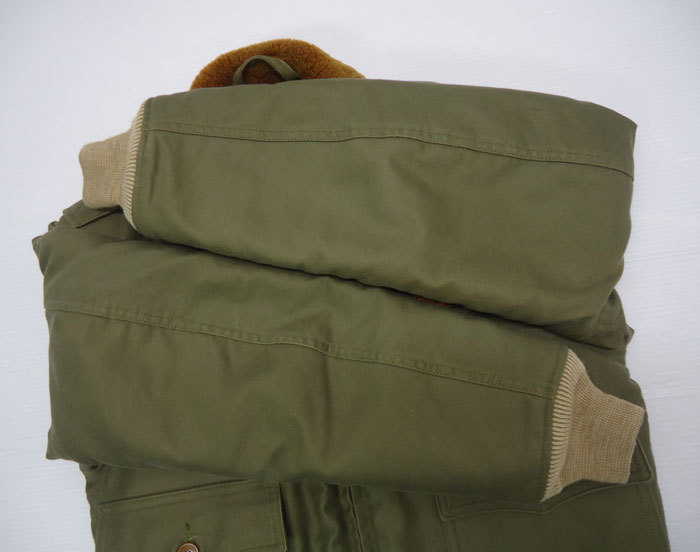 A BATHING APE ×TOYS MCCOY ア ベイシング エイプ×トイズマッコイ B-10 フライト ジャケット ミリタリー 日本製 サイズS_画像8
