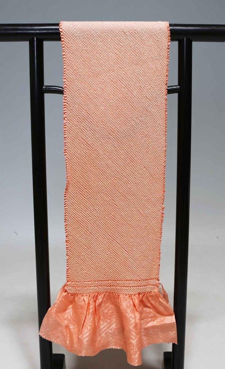 振袖用正絹総絞り帯揚げ(四つ巻き)単品  訳あり品 1064_画像1