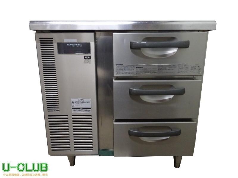 ◆IB1412 台下冷蔵庫 冷蔵ドロワー RT-80DNC ホシザキ W800×D600×H800mm 中古 業務用 厨房用 コールドテーブル_画像1