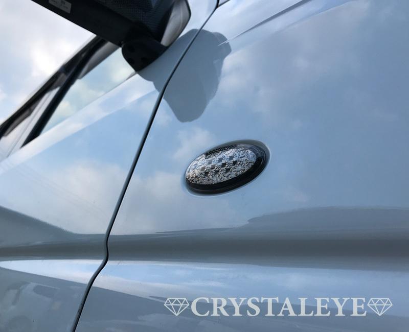 エブリイ(DA64V,W) LEDサイドマーカー 流れるウインカータイプ スズキ車用 バン ワゴン DA64 LEDサイドマーカー スモーク_画像7