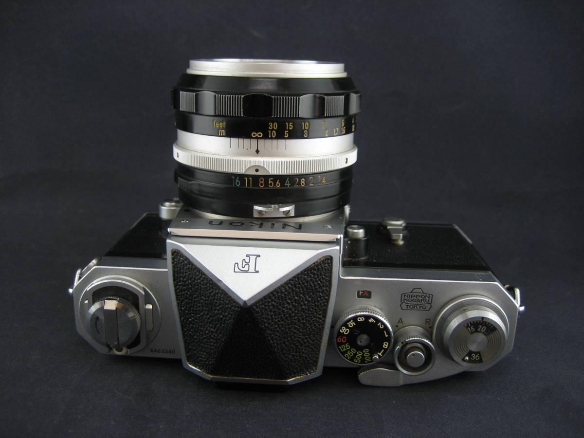 【茶々】Nikon F 646万台 NIKKOR-S Auto1:1.4 f=50mm_画像4