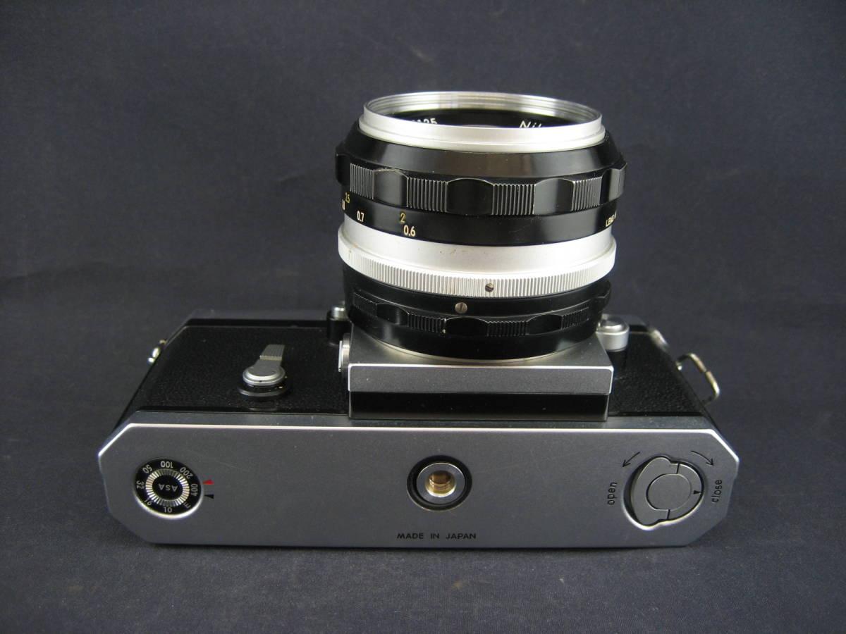 【茶々】Nikon F 646万台 NIKKOR-S Auto1:1.4 f=50mm_画像5