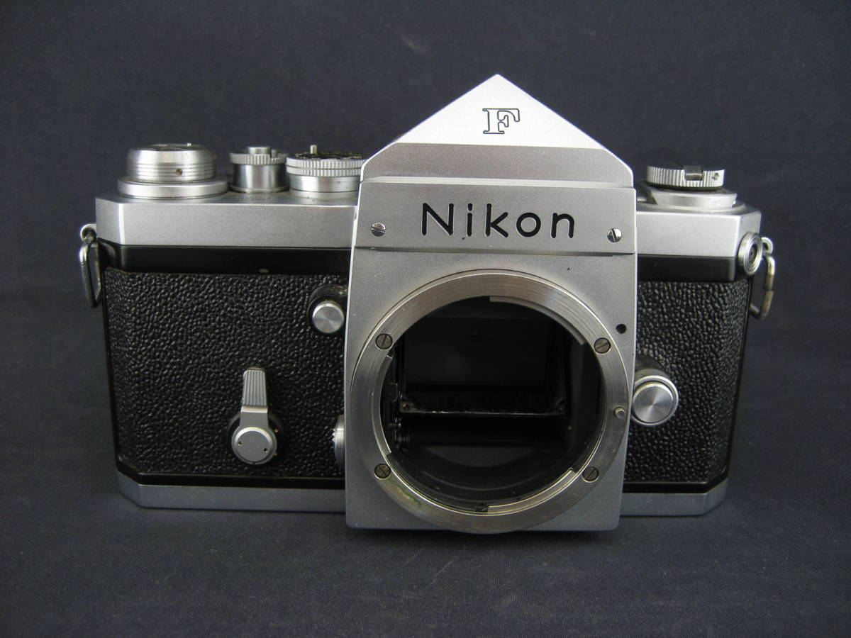 【茶々】Nikon F 646万台 NIKKOR-S Auto1:1.4 f=50mm_画像6