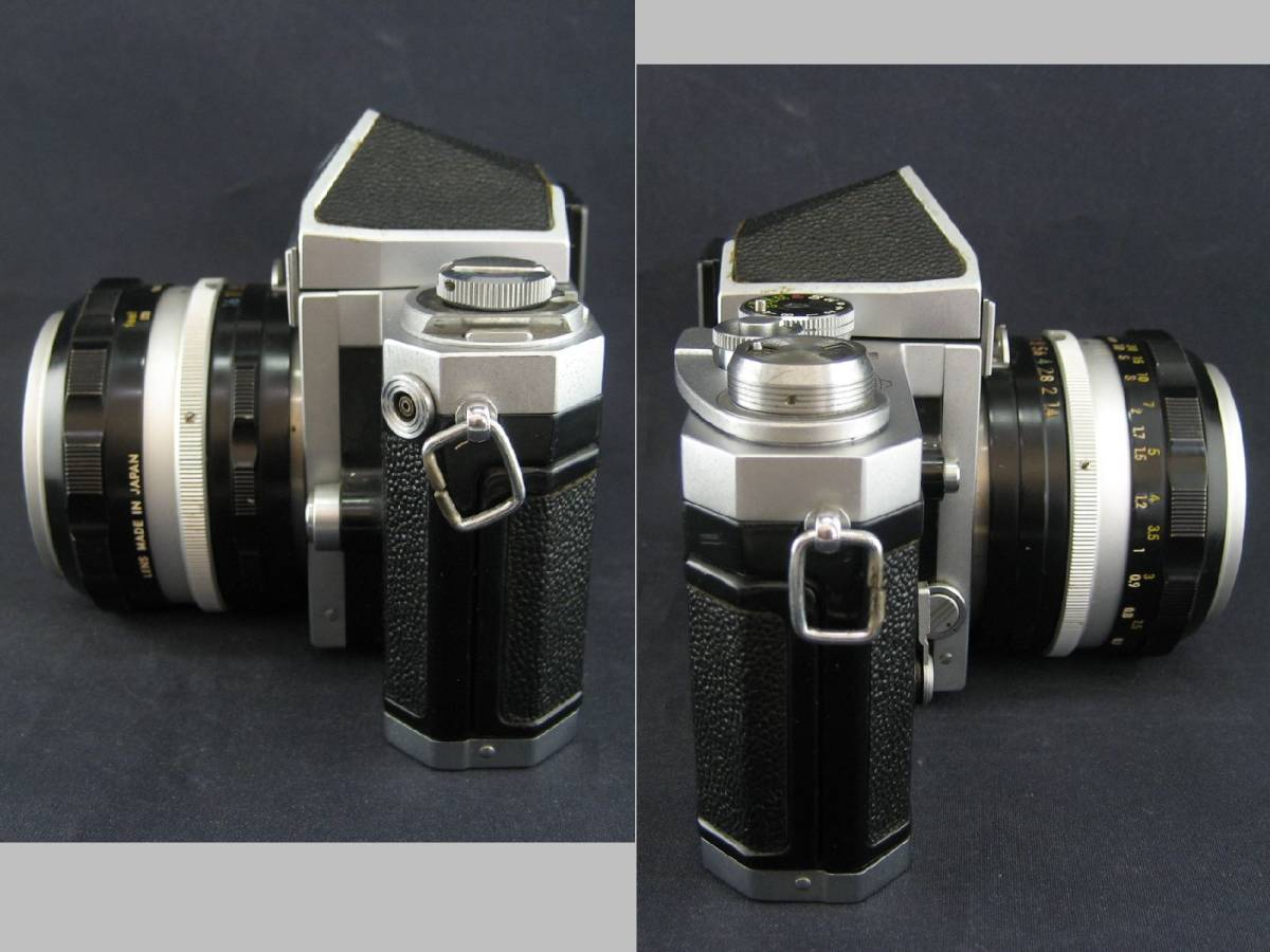 【茶々】Nikon F 646万台 NIKKOR-S Auto1:1.4 f=50mm_画像7