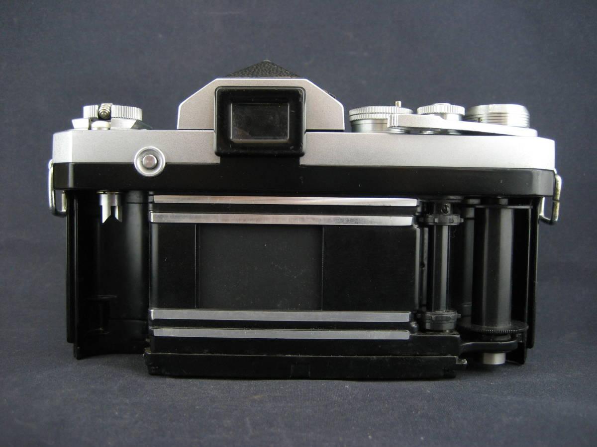 【茶々】Nikon F 646万台 NIKKOR-S Auto1:1.4 f=50mm_画像8