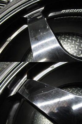 ●希少!! 日産 NISSAN 純正 R35 GT-R GTR NISMO ニスモ nismo 鍛造 FORGED RAYS製 20インチ 10J +41 10.5J +25 ホイール 4本_画像6