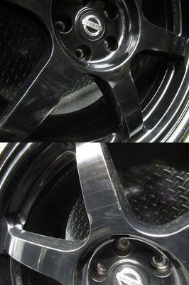 ●希少!! 日産 NISSAN 純正 R35 GT-R GTR NISMO ニスモ nismo 鍛造 FORGED RAYS製 20インチ 10J +41 10.5J +25 ホイール 4本_画像5
