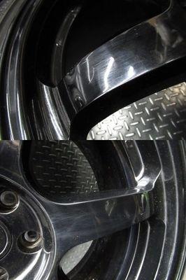 ●希少!! 日産 NISSAN 純正 R35 GT-R GTR NISMO ニスモ nismo 鍛造 FORGED RAYS製 20インチ 10J +41 10.5J +25 ホイール 4本_画像7