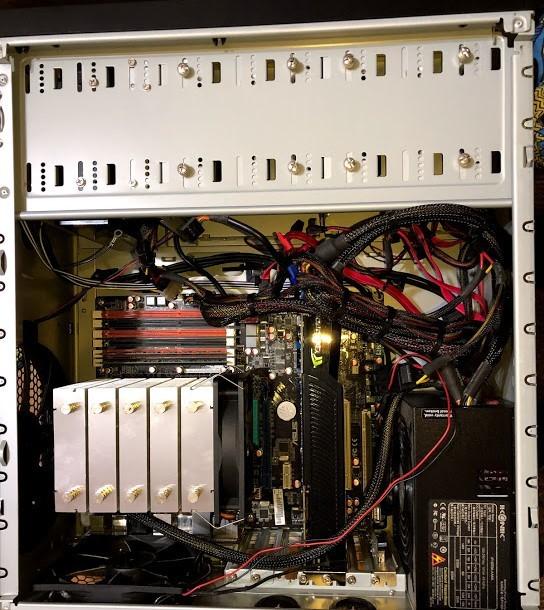 自作パソコン 自作PC / ASUS P6T / Core i7 / GeForce GTX 260 / ドライブ類無し   ジャンク_画像2