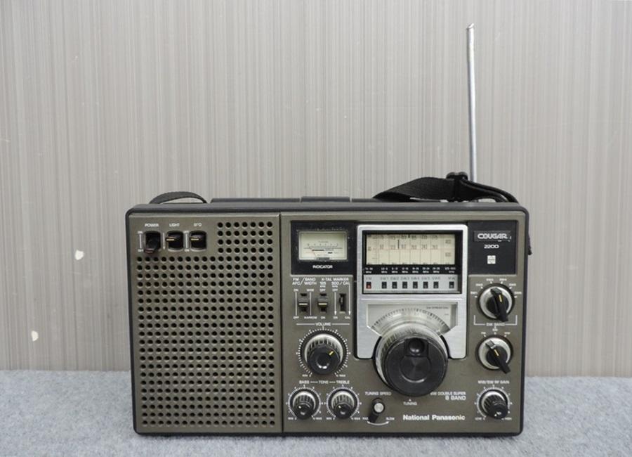 t7447◇National Panasonic/ナショナルパナソニック【RF-2200】8バンドレシーバー◇_画像2