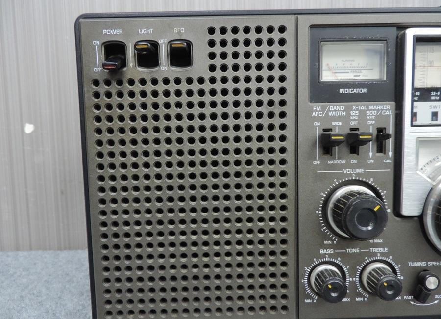 t7447◇National Panasonic/ナショナルパナソニック【RF-2200】8バンドレシーバー◇_画像3