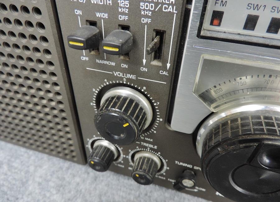 t7447◇National Panasonic/ナショナルパナソニック【RF-2200】8バンドレシーバー◇_画像4