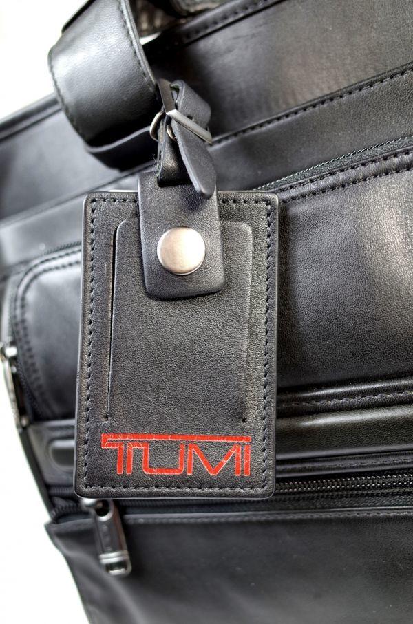 TUMI 96141G4.4(廃番)ナパレザーMID・EXPオーガナイザーPCブリーフ【稀少・新品】デッドストック_画像8