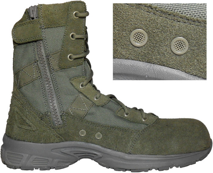 0d230afadfda 新品☆CONVERSE C8291 VELOCITY COMP TOE SIDE ZIP BOOT USAF ABU - SAGE GREEN.