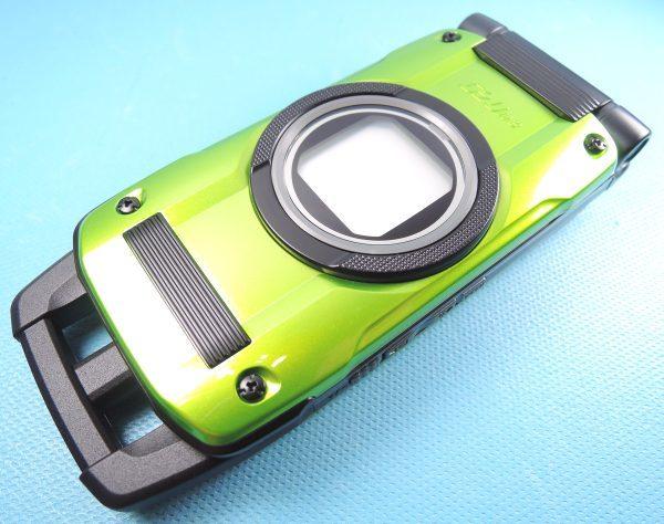 新品 au G'zOne TYPE-X グリーン ロッククリア済 新品電池付 CASIO カシオ