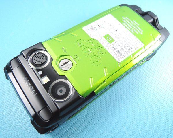 新品 au G'zOne TYPE-X グリーン ロッククリア済 新品電池付 CASIO カシオ_画像2