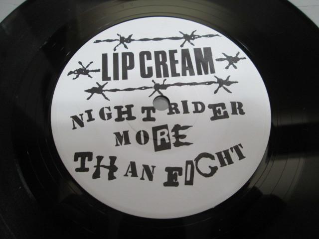 希少!未使用品!LIP CREAM NIGHT RIDER MORE THAN FIGHT! 7' リップクリーム 和モノ ジャパコア_画像3