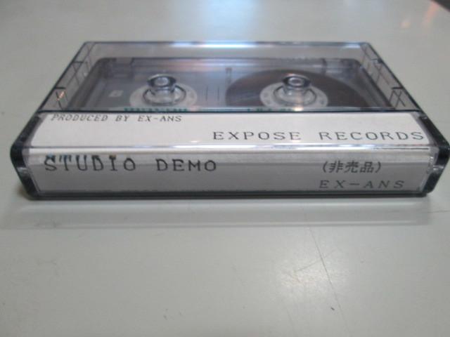 希少!EX-ANS STUDIO DEMO カセット・テープ V系 和モノ ジャパコア エクスアンス