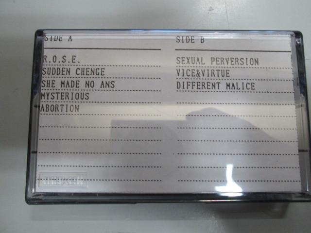 希少!EX-ANS STUDIO DEMO カセット・テープ V系 和モノ ジャパコア エクスアンス_画像2
