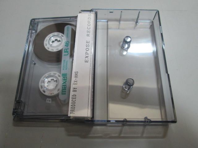 希少!EX-ANS STUDIO DEMO カセット・テープ V系 和モノ ジャパコア エクスアンス_画像3