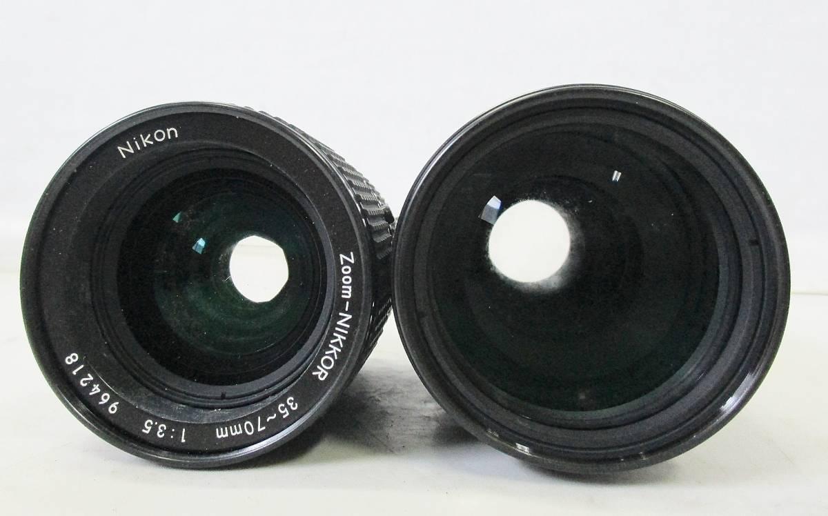 14 05-137132-23 Nikon ニコン F ボディ DW-4 ファインダー カメラ レンズ 他 まとめてセット 神05_画像7