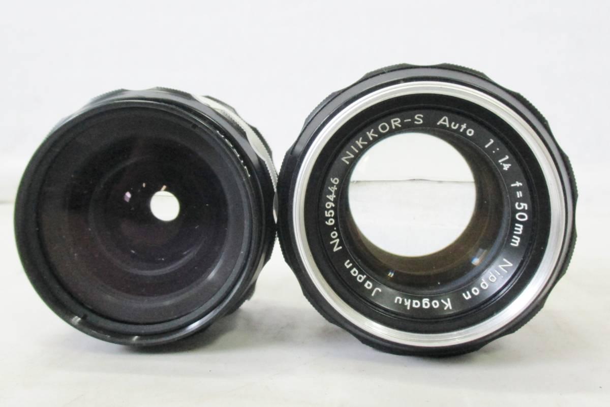 14 05-137132-23 Nikon ニコン F ボディ DW-4 ファインダー カメラ レンズ 他 まとめてセット 神05_画像5