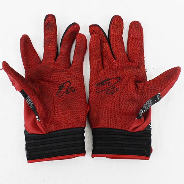 [チャリティ]福岡ソフトバンクホークス 西田選手 バッティング手袋