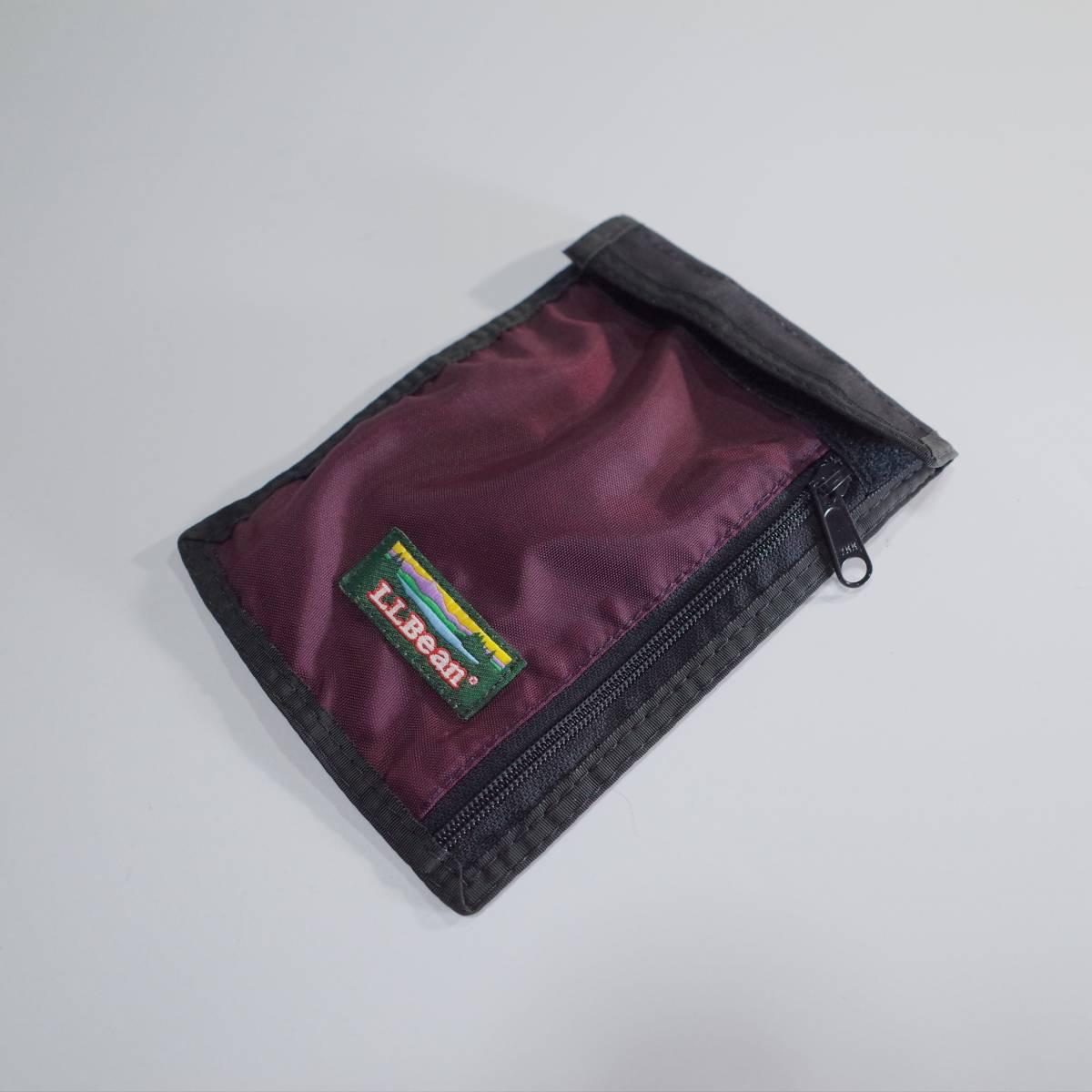 a2de460c6e81 代購代標第一品牌- 樂淘letao - 送料無料LL BEAN L.L.BEAN 80s 90s パスポートケースウォレットチケットケース ビンテージヴィンテージエンジ色ディープレッド