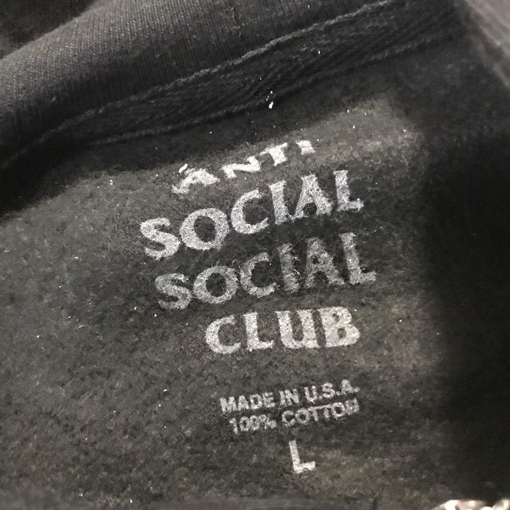ASSC Mind Games Zip Up Hoodie 黒XL Anti Social Social Club ジップアップパーカー アンチソーシャルソーシャルクラブ_画像5
