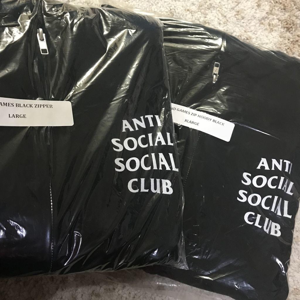ASSC Mind Games Zip Up Hoodie 黒XL Anti Social Social Club ジップアップパーカー アンチソーシャルソーシャルクラブ_画像7