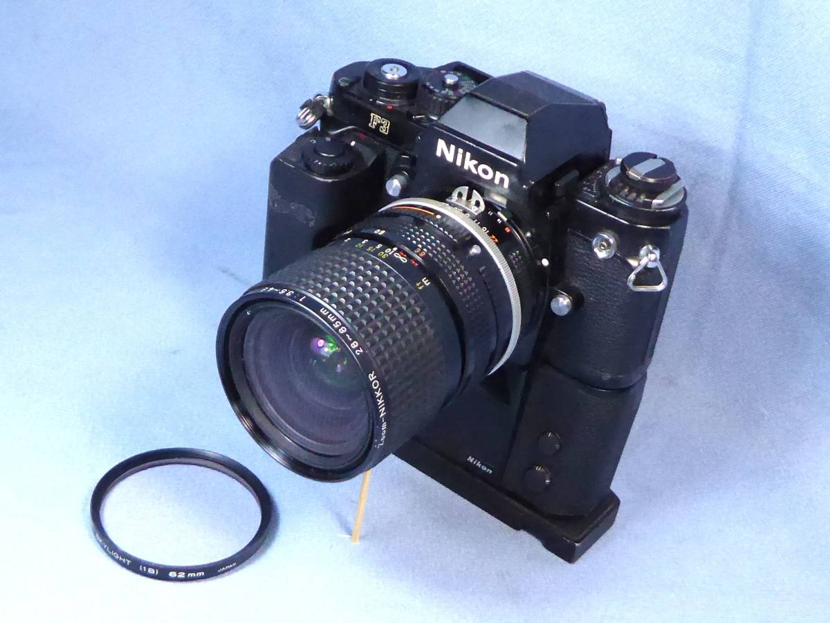 ★  綺麗  ★   NIKON   F 3   +   Zoom  NIKKOR   28-85mm/F3.5-4.5   +   MD-4   +   AH-3 _画像2