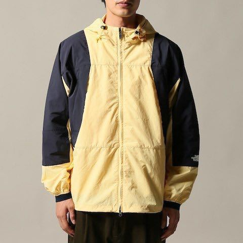 L正規新品未使用タグ付き別注THE NORTH FACE PURPLE LABEL JOURNAL STANDARD コラボ パープルレーベル JS Mountain Wind P イエロー_画像5