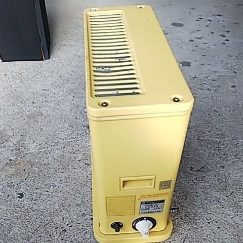 かわいい置物 HITACHI 日立熱器具 LPガス用 ガスストーブ GVB-30 プロパン用 レトロ アンティーク 昭和レトロ 味でてますよ~_画像6