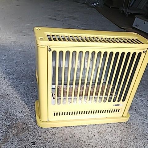 かわいい置物 HITACHI 日立熱器具 LPガス用 ガスストーブ GVB-30 プロパン用 レトロ アンティーク 昭和レトロ 味でてますよ~_画像3